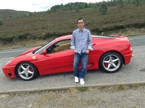 Ferrari samping