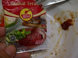 sambal sachet